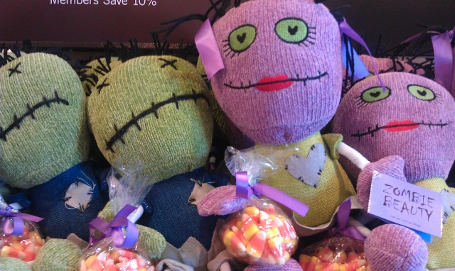 I Walked Into Starbucks In Barnes And Noble Saw These Just Time For Halloween Zombie Plushies They Look Kinda Cute Wanted A Boy Girl